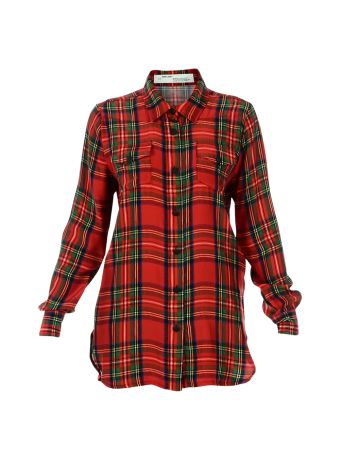 Red Check Long Shirt