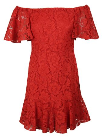 Valentino Guipure Lace Mini Dress