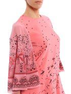 Valentino Swallow Metamorphosis Mini Dress