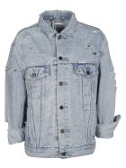 Forte Couture Yeah Distressed Denim Jacket