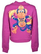 Moschino Crowned Monkey Bomber