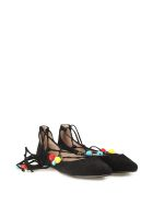 Steve Madden Eleanor Embellished Suede Ballet Flats