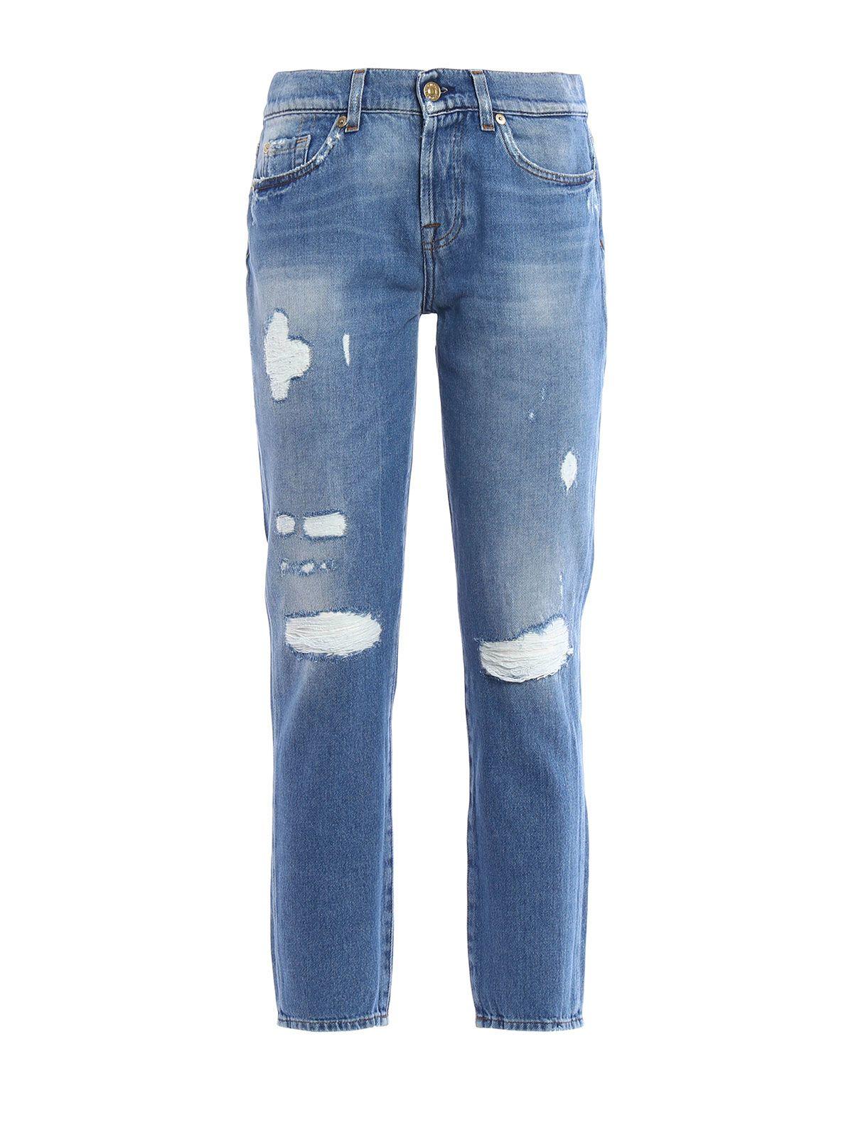 7 For All Mankind Josie Crop Jeans