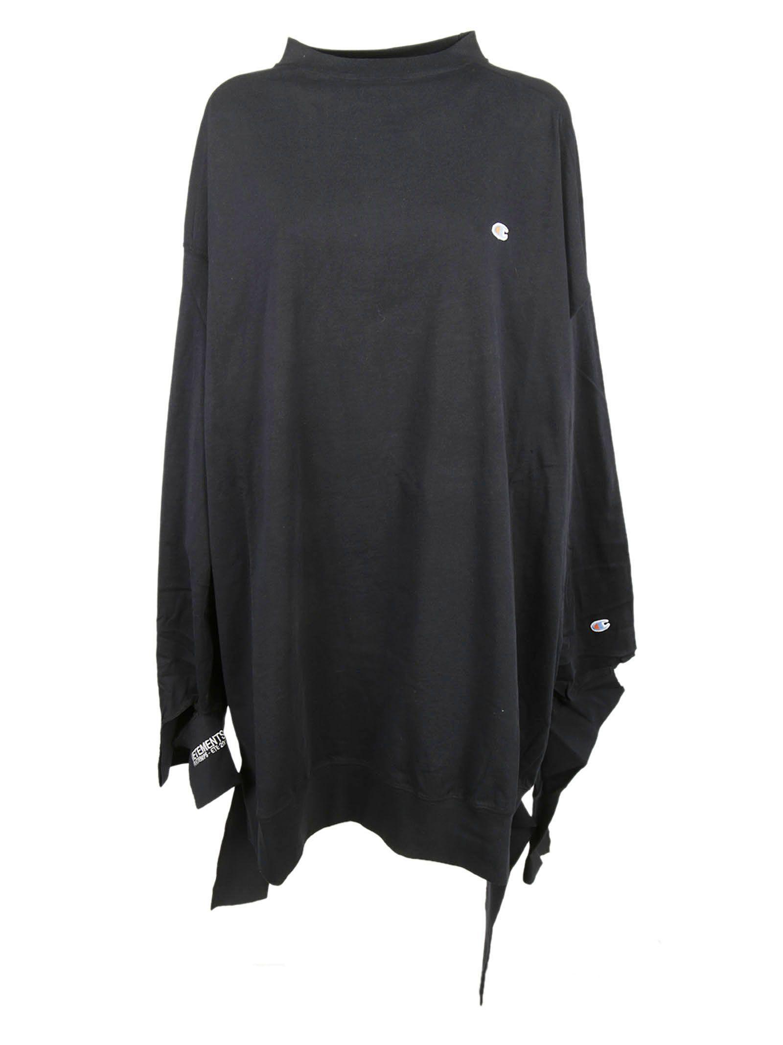 Vetements Champion Oversized Jersey Dress