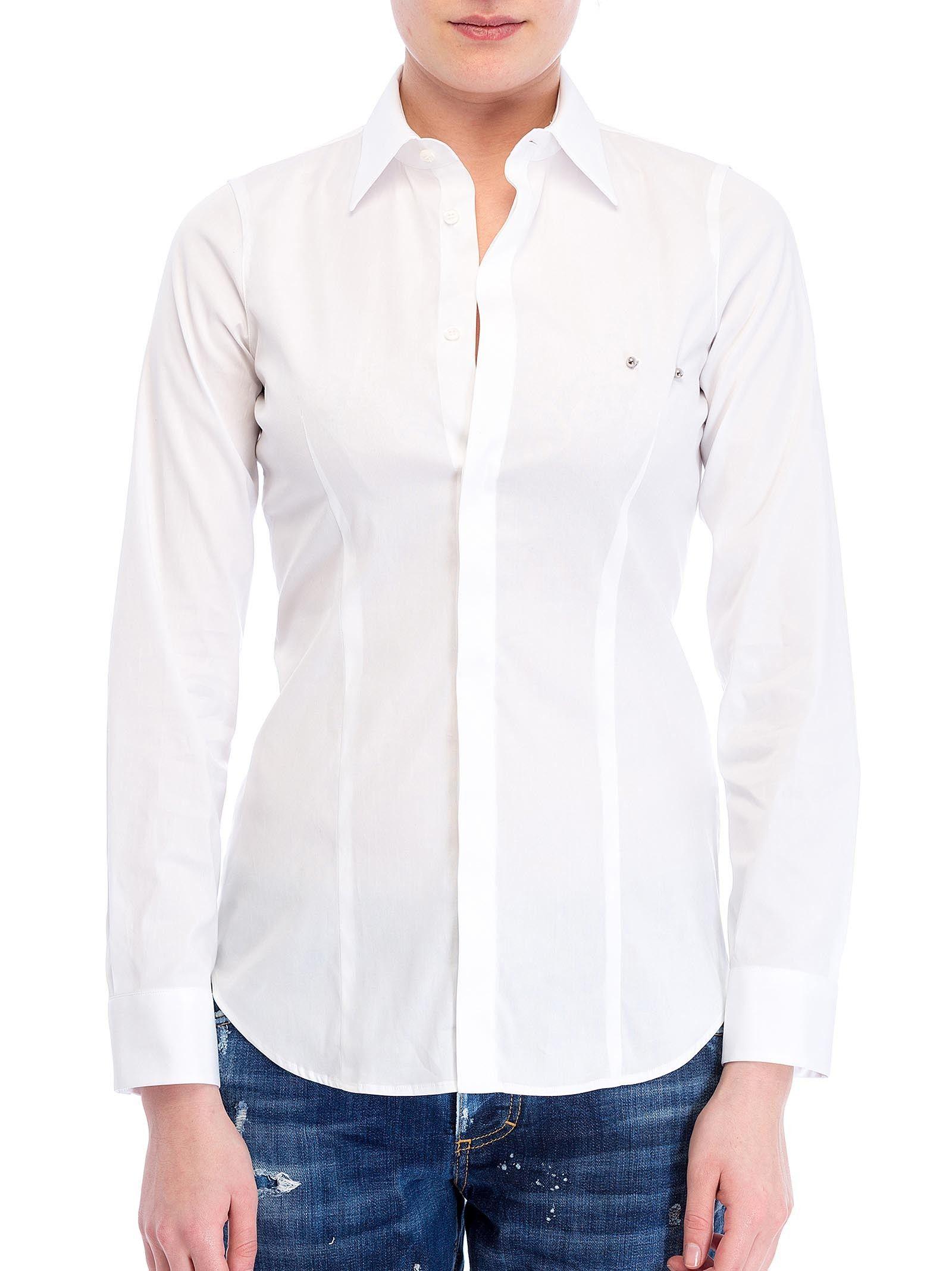 Dsquared White Tailored Shirt