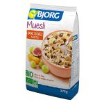 Organic fruit muesli with no added sugar