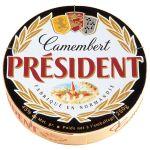 President Camembert in wooden box