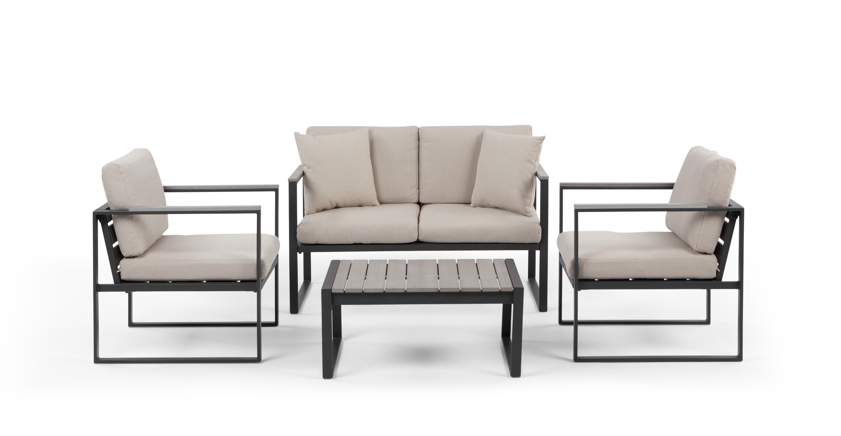 Catania Outdoor Lounge Set Polywood Discount Furniture Store