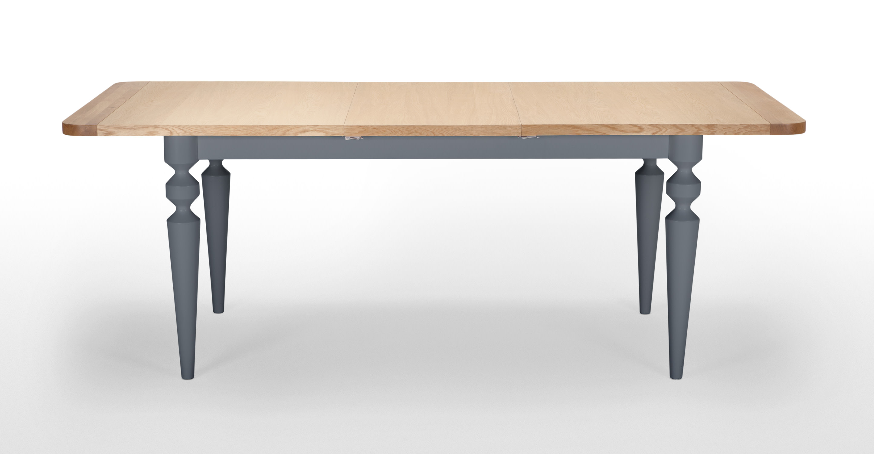 Betty Extending Dining Table Oak And Grey
