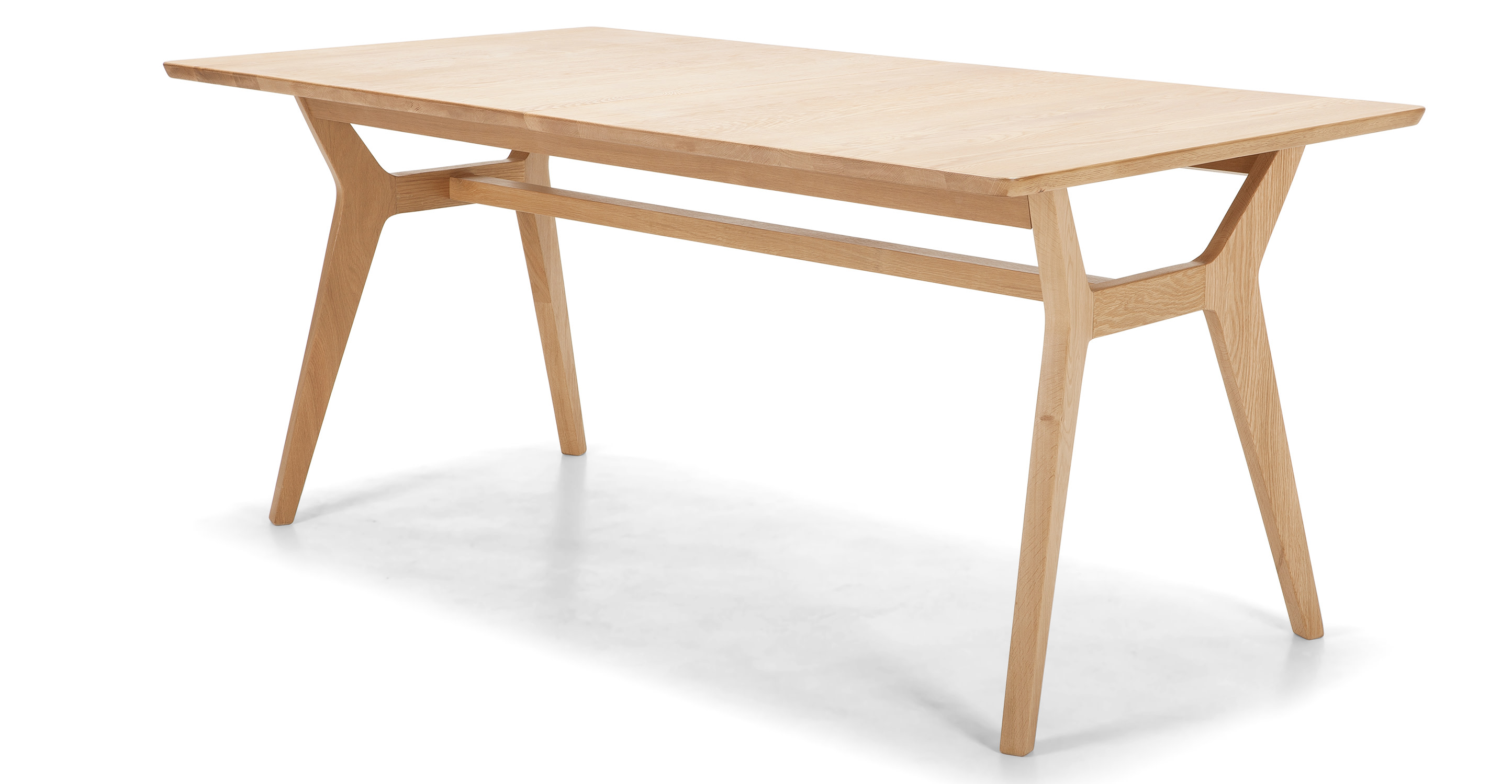 Jenson Extending Dining Table Solid Oak