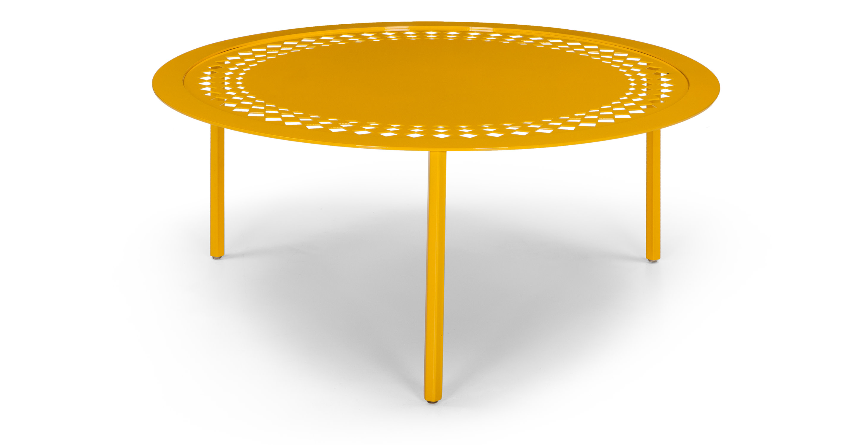 Morocco Coffee Table In Yellow