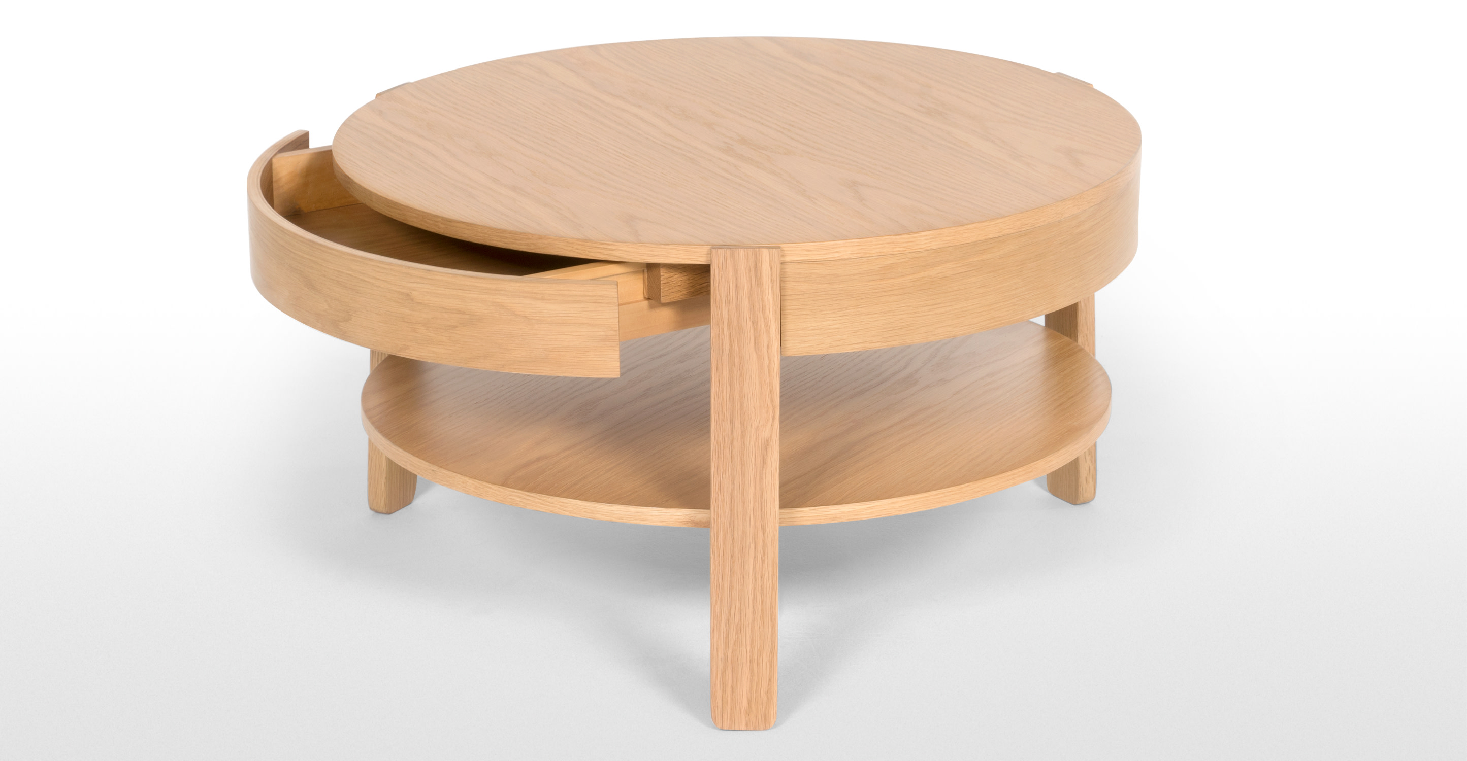 Pippa coffee table light oak Light oak coffee tables