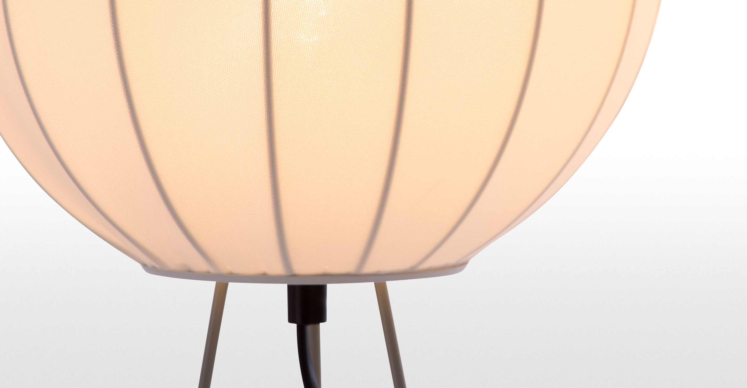 Mist Table Lamp Cool Grey And White