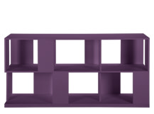 Axis Sideboard, Purple Lacquer