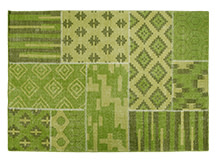 Blocks Rug 170 x 240cm, Leaf Green