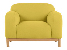 Brady Armchair, Mustard Yellow