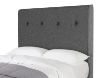 Capri Double Headboard, Etna Grey