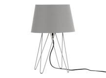 Collins Table Lamp, Cool Grey