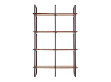 Contrast Shelves, Walnut