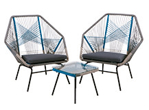 Copa Outdoor Aperitif Set, Cool Blue