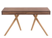 Darcey Desk, Walnut & Oak