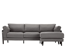 Deacon Corner Sofa, Storm Grey