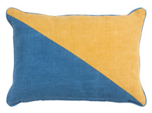 Elbert Rectangular Cushion 35 x 50cm, Mustard