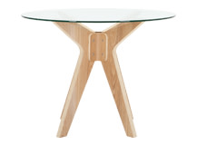 Frank Dining Table, Glass