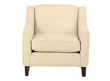 Halston Armchair, Cream