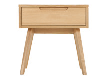 Jenson Side Table, Solid Oak