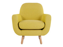Jonah Armchair, Saffron Yellow