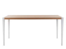 Joseph Dining Table, Oak and White