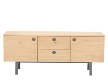 Kleur Sideboard, Pine and Grey