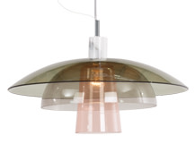 Lab Ceiling Pendant, Soft Green, Cool Grey & Blush Pink