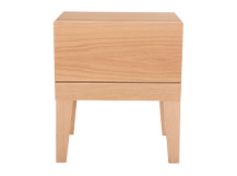 Lansdowne Bedside Table, Natural Oak