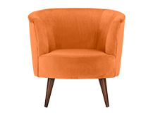 Lulu Scoop Chair, Chatelet Orange
