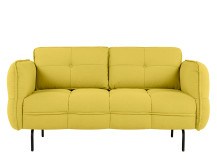 Maverick 2 seater sofa, Mustard Yellow