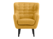 Mini Kubrick Armchair, Ochre Yellow