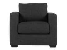Mortimer Armchair, Shadow Grey