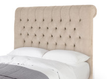 Orkney Double Headboard, Tulip Cream