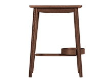Penn Bedside Table, Dark Stain Ash