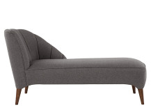 Pimlico Right Hand Facing Chaise, Suiting Grey