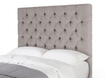 Skye Double Headboard, Owl Grey