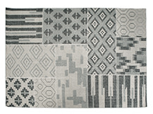 Blocks Rug 200 x 300cm, Lunar Grey