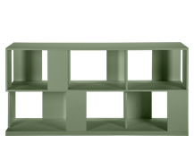 Axis Sideboard, Green Lacquer
