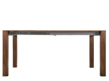 Bramante Extending Dining Table, Walnut
