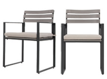2 x Catania Outdoor Dining Chair, Polywood