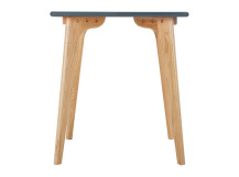 Fjord Compact Dining Table, Oak and Blue