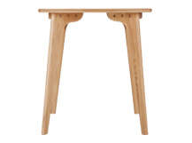 Fjord Compact Dining Table, Oak