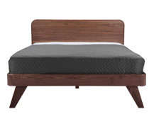 Fonteyn Kingsize Bed, Walnut
